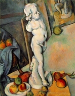 Still Life with Plaster Cupid painting reproduction, Paul Cezanne