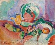 Still Life with Vegetables painting reproduction, Henri Matisse