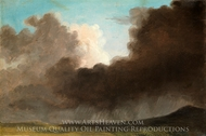 Stormy Sky painting reproduction, Pierre Henri De Valenciennes