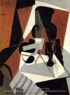 Strawberry Jam by Juan Gris