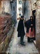 Street in Venice by John Singer Sargent
