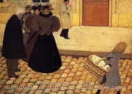 Street Scene by Felix Vallotton