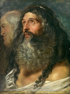 Study of Two Heads painting reproduction, Peter Paul Rubens