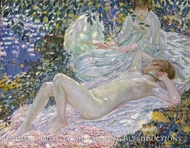 Summer by Frederick Carl Frieseke