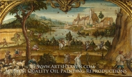 Summer painting reproduction, Hans Wertinger