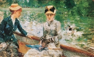 Summer Day painting reproduction, Berthe Morisot