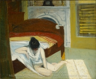 Summer Interior painting reproduction, Edward Hopper