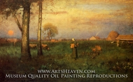 Sundown by George Inness
