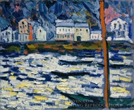 Sunlight on Water painting reproduction, Maurice De Vlaminck