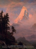 Sunrise on the Matterhorn by Albert Bierstadt
