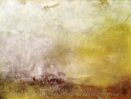 Sunrise with Sea Monsters painting reproduction, Joseph Mallord William Turner