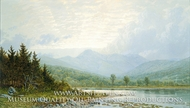 Sunset on Mount Chocorua, New Hampshire by William Trost Richards