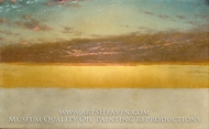 Sunset Sky painting reproduction, John Frederick Kensett