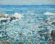 Surf, Isles of Shoals by Childe Hassam