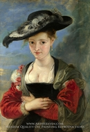 Susanna Fourment by Peter Paul Rubens