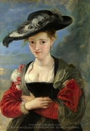 Susanna Fourment painting reproduction, Peter Paul Rubens