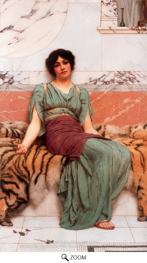 Painting Reproduction of Sweet Dreams, John William Godward