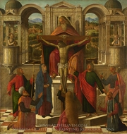 Symbolic Representation of the Crucifixion painting reproduction, Giovanni Mansueti