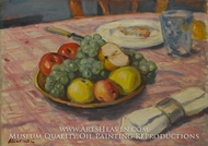 Table Setting with Fruit by Albert Andre