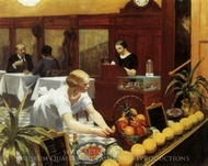 Tables for Ladies painting reproduction, Edward Hopper