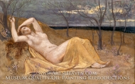 Tamaris by Pierre Puvis De Chavannes