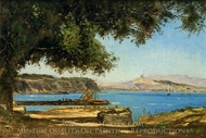 Tamaris by the Sea at Saint-Andre near Marseille painting reproduction, Paul-Camille Guigou