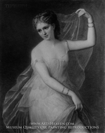Terpsichore painting reproduction, Joseph Fagnani