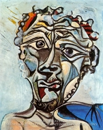 Tete d'Homme by Pablo Picasso (inspired by)