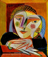 Tete de Femme by Pablo Picasso (inspired by)