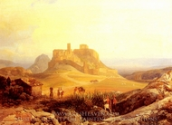 The Acropolis Athens painting reproduction, Ender Thomas