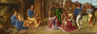 The Adoration of the Kings painting reproduction, Giorgione