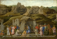 The Adoration of the Kings by Filippino Lippi