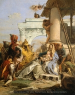 The Adoration of the Magi painting reproduction, Giovanni Battista Tiepolo