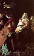 The Adoration of the Magi painting reproduction, Diego Velazquez