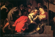 The Adoration of the Shepherds painting reproduction, Sir Anthony Van Dyck