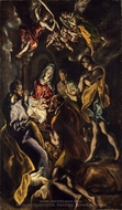 The Adoration of the Shepherds painting reproduction, El Greco