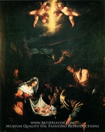 The Adoration of the Shepherds by Jacopo Bassano
