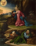 The Agony in the Garden painting reproduction, Garofalo