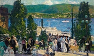 The Albany Boat by Gifford Beal