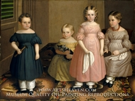 The Alling Children painting reproduction, Oliver Tarbell Eddy