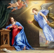 The Annuciation painting reproduction, Philippe De Champaigne