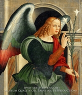 The Annunciate Angel painting reproduction, Vincenzo Pagani