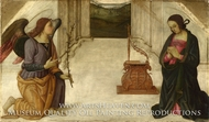 The Annunciation painting reproduction, Giannicola Di Paolo