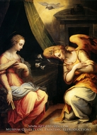 The Annunciation by Giorgio Vasari