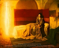 The Annunciation painting reproduction, Henry Ossawa Tanner