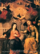 The Annunciation painting reproduction, Hendrick Van Balen