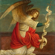 The Annunciation - The Angel Gabriel painting reproduction, Gaudenzio Ferrari