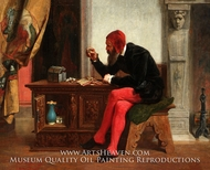 The Antiquary painting reproduction, Edwin White