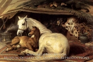 The Arab Tent by Sir Edwin Landseer