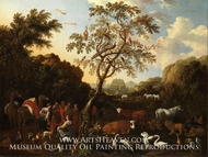 The Ark painting reproduction, Lodewijk Tieling
